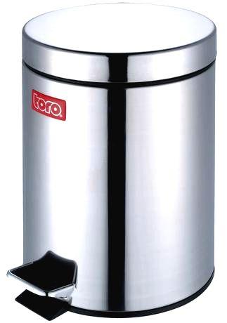 TORO Nerezový nášľapný kôš na odpadky TORO 20l
