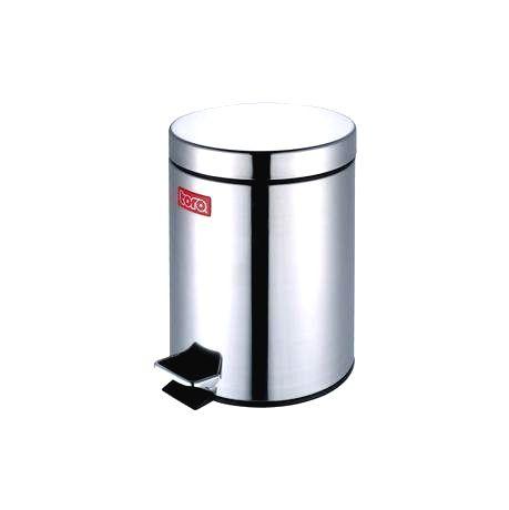 TORO Nerezový nášľapný kôš na odpadky TORO  3l