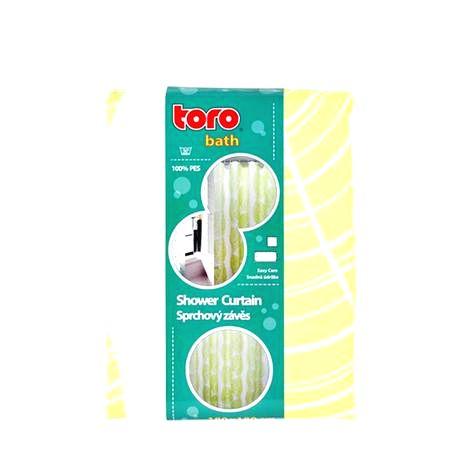 TORO Sprchový záves textilný