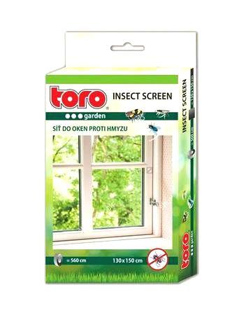 TORO Sieť okenná proti hmyzu