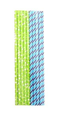 TORO Slamky ozdobné papierové 21 cm
