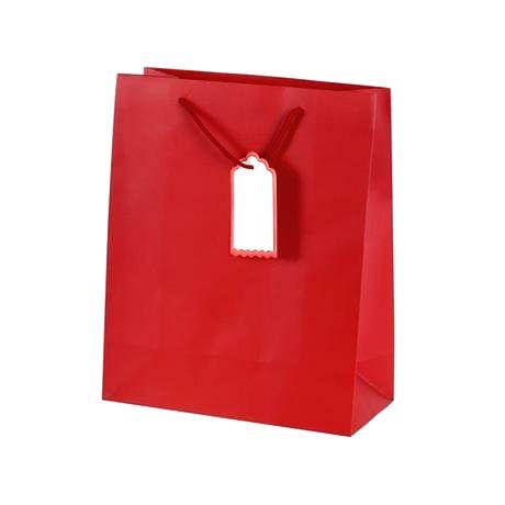 TORO Darčeková taška s visačkou TORO 32x26cm