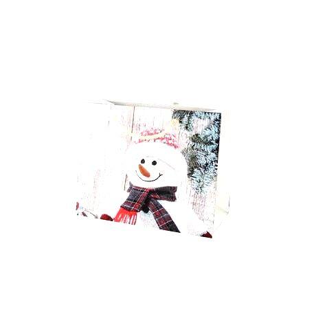 TORO Papierová vianočná dárčeková taška TORO 18x23x10cm assort