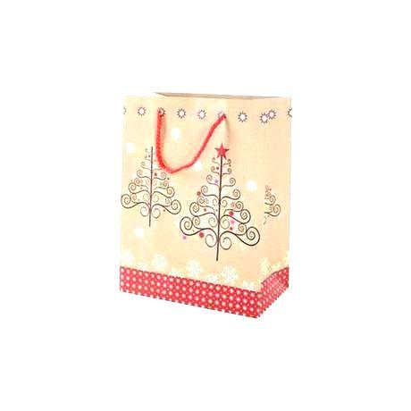 TORO Papierová vianočná dárčeková taška TORO 23x18x10cm assort