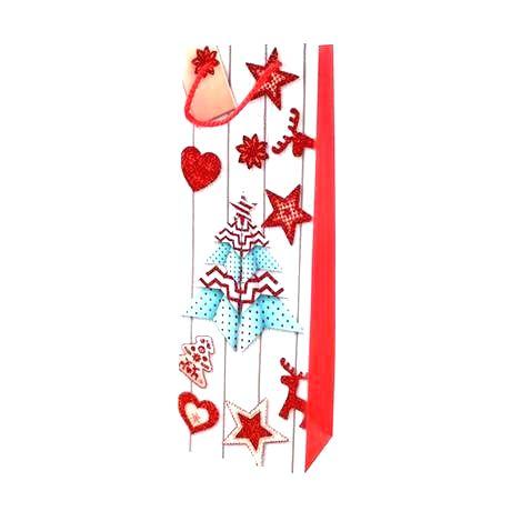TORO Papierová vianočná taška na vino TORO 36x12