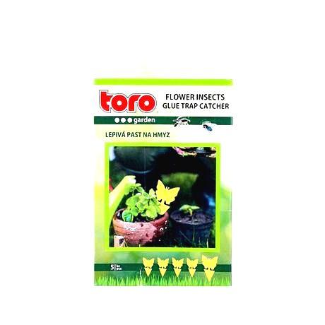 TORO Lepivá pasca na hmyz TORO 5ks kvet