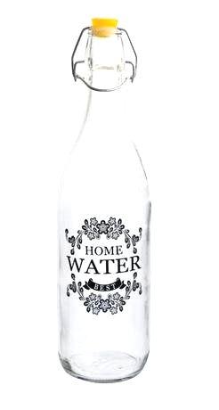 TORO Fľaša sklenená s uzáverom