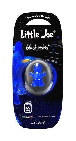 LITTLE JOE Osviežovač vzduchu do auta LITTLE JOE LIQUID MEMBRANE black velvet