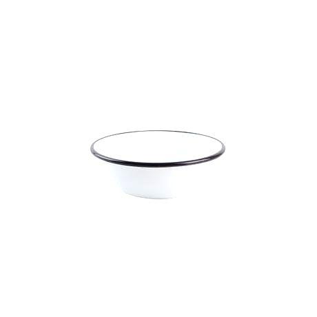 TORO Smaltovaná miska 16cm biela