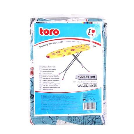 TORO Poťah na žehliacu dosku TORO 120x45cm