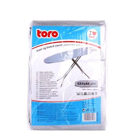TORO Poťah na žehliacu dosku TORO 120x45cm nepriľnavý