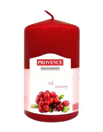 Provence Vonná sviečka PROVENCE 11cm brusnica