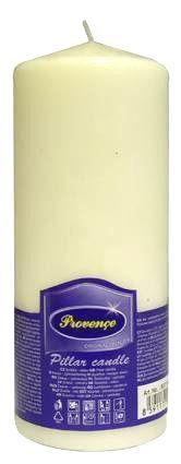 Provence Neparfumovaná sviečka PROVENCE 16cm biela