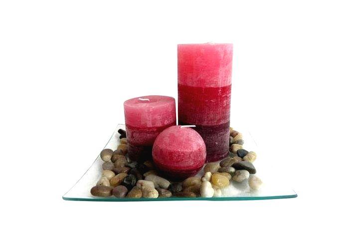 TORO Darčekový set 3 sviečky