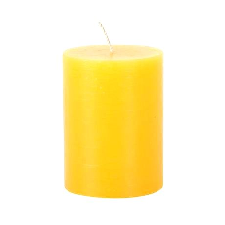 Provence Rustikálna sviečka 10cm PROVENCE žltá