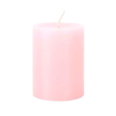 Provence Rustikálna sviečka 10cm PROVENCE ružová