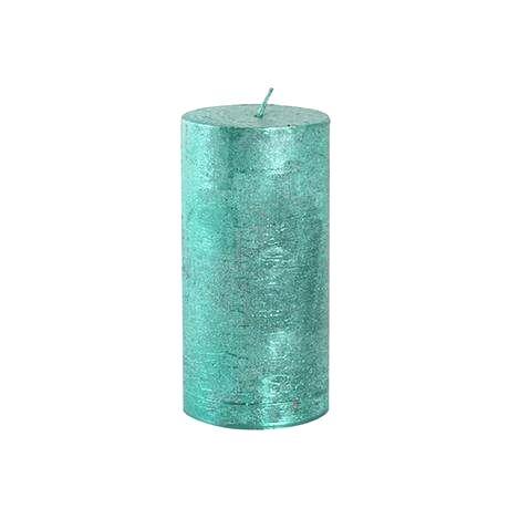 Provence Rustikálna sviečka 12cm PROVENCE zelená