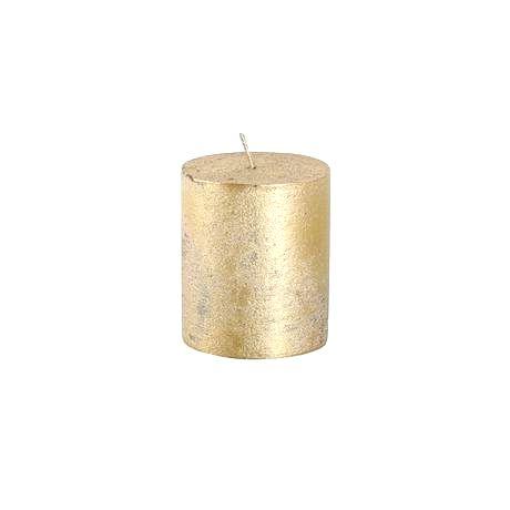 Provence Rustikálna sviečka 7cm PROVENCE zlatá