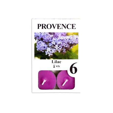 Provence Čajová sviečka PROVENCE 6ks orgován