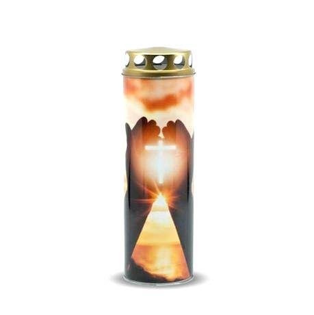 Náhrobná sviečka 225g kríž