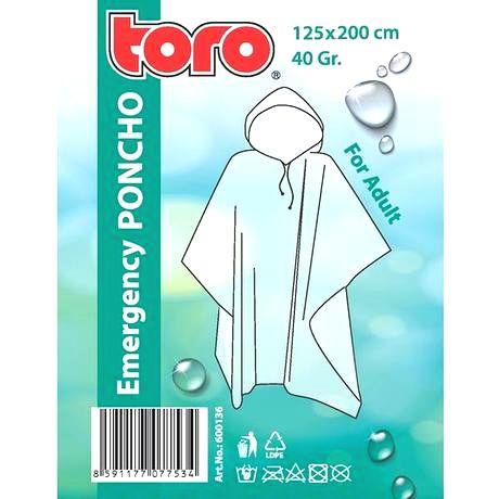 TORO Poncho pláštenka pre dospelých TORO