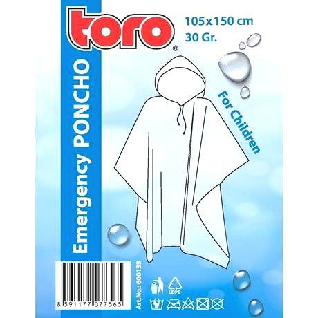 TORO Poncho pláštenka pre deti TORO