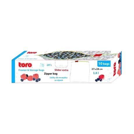 TORO Vrecká na potraviny TORO 10ks 3