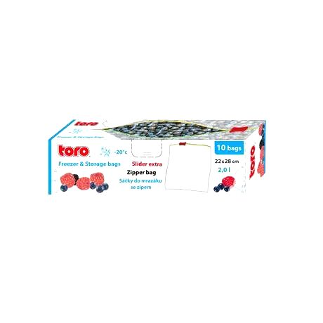 TORO Vrecká na potraviny TORO 10ks 2l