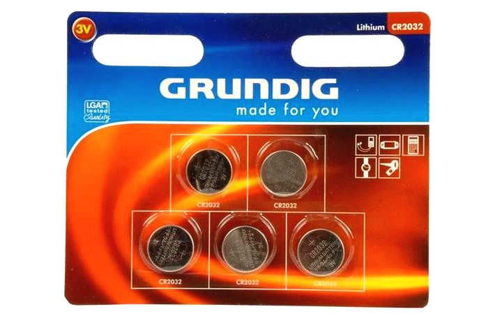Grundig Batérie gombíkové