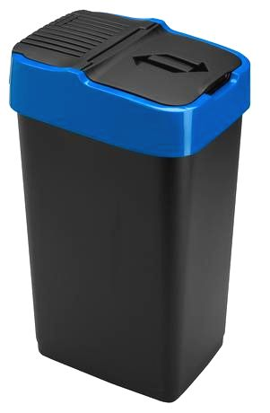 heidrun Plastový kôš na odpadky HEIDRUN 35l