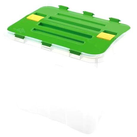 heidrun Plastový úložný box s vekom HEIDRUN Dragon 24l