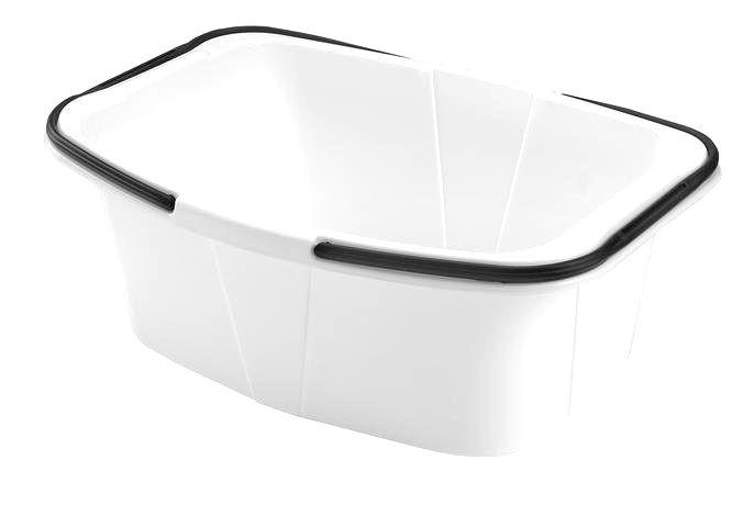 heidrun Plastový kôš na čistú bielizeň Heidrun 26 l biely