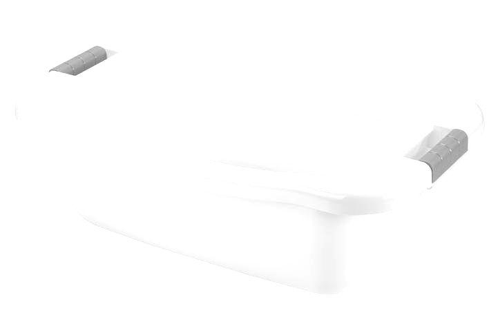 heidrun Plastový kôš na čistú bielizeň Heidrun 66 x 41 x 22