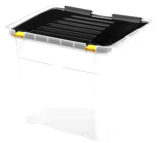 heidrun Plastový úložný box s vekom HEIDRUN One 36l