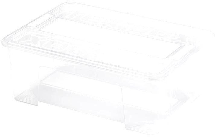 heidrun Plastový úložný box s vekom HEIDRUN TexBox 10l