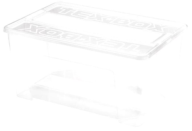 heidrun Plastový úložný box s vekom HEIDRUN TexBox 48l