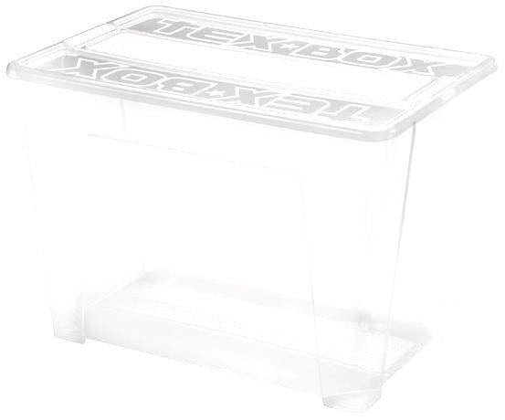 heidrun Plastový úložný box s vekom HEIDRUN TexBox 70l