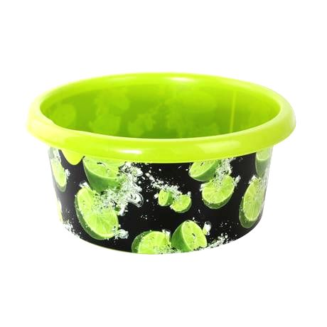 KON-PLAST Plastové umývadlo s dekorom 8l