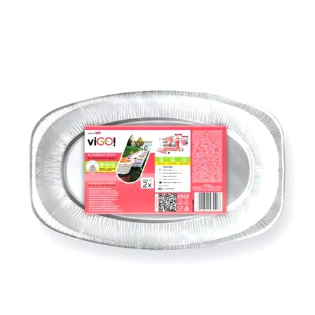 VIGO Podnos oválny malý VIGO aluminium