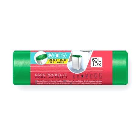 VIGO Vrecká do odpadkových košov 60l VIGO 10ks zelený