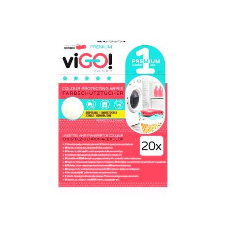 VIGO Utierka proti farbenie bielizne pri praní VIGO! 20ks